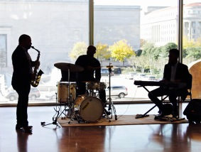 Jazz performance by Herb Scott
